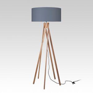 Five Point Floor Lamp (Grey)