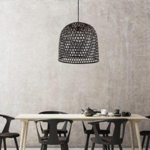 Basket Pendant (black)