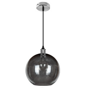 Esfera Deluxe Pendant 300 (grey/chrome)