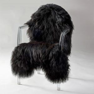 Icelandic Sheepskin #385 - Black