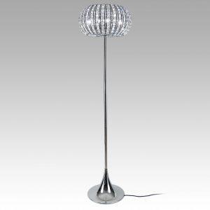 Crystal Globe Floor Lamp