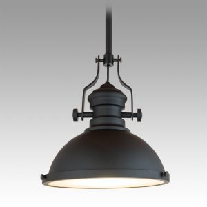 French Industrial Pendant 410