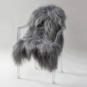 Icelandic Sheepskin #448- Steel Grey