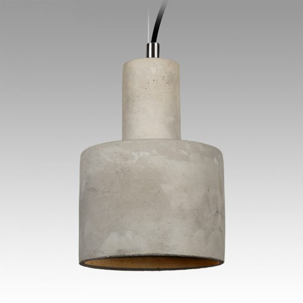 Concrete Huey Pendant