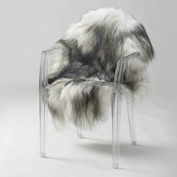 Icelandic Sheepskin #402 - Wolf Grey