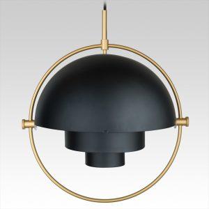 Multi-Lite Pendant (brass/black)