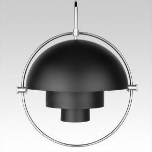 Multi-Lite Pendant (silver/black)