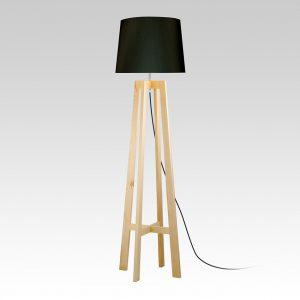Swiss Floor Lamp (black)