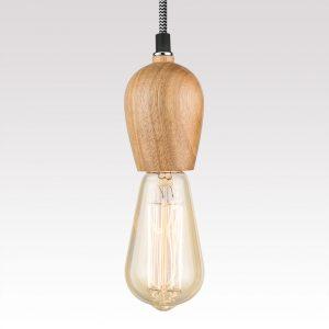 Single Hanging Pendant - Tiny Tim (chevron)