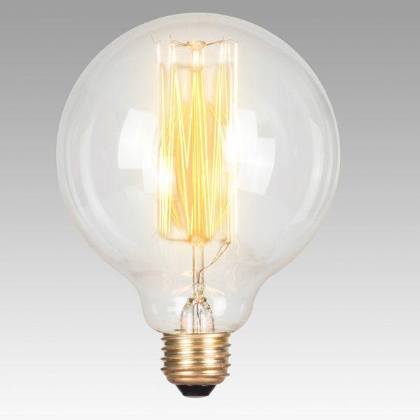 Vintage Filament Bulb - Edison 125 (Round)