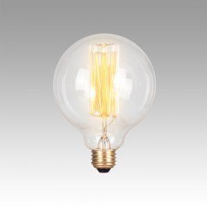 Vintage Filament Bulb - Edison 95 (Round)