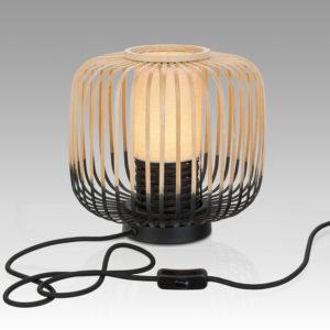 Pauanui Table Lamp 270 (natural/black)
